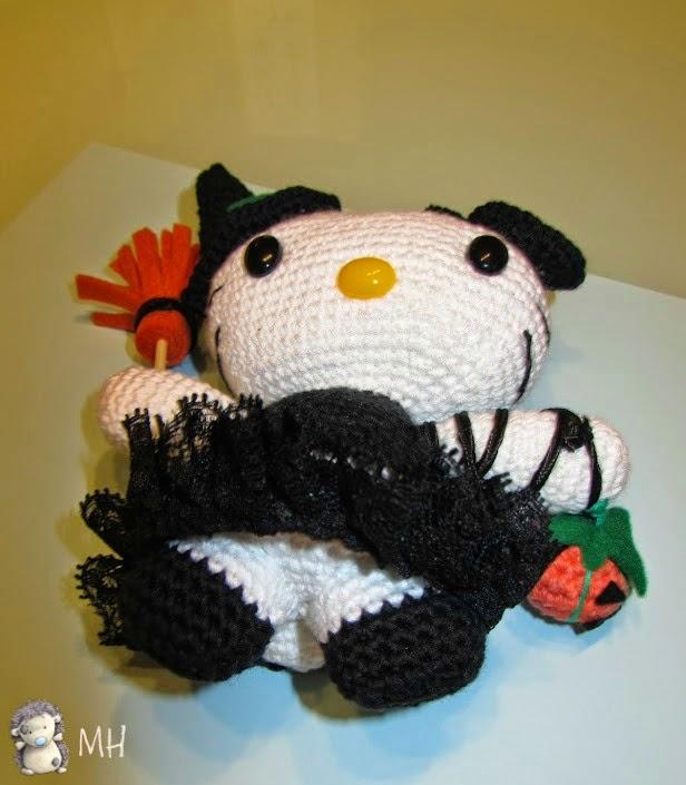 Hello Kitty Amigurumi Halloween