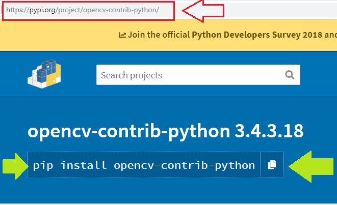 Pip install opencv-contrib-python windows | How to install