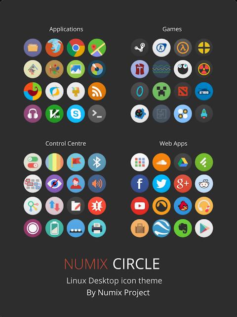 Ícones Numix