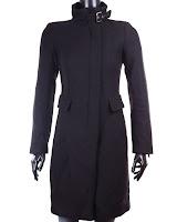 Palton Zara Dama Pilar Deep Black (Z )