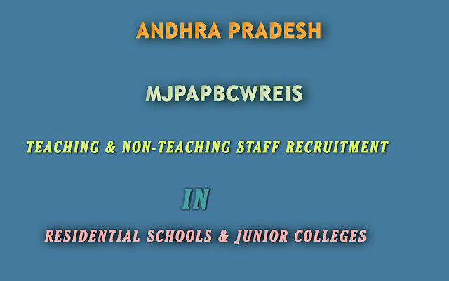 AP-MJPAPBCWREIS-Teaching-Non-Teaching-Staff-Recruitment-Gudibanda