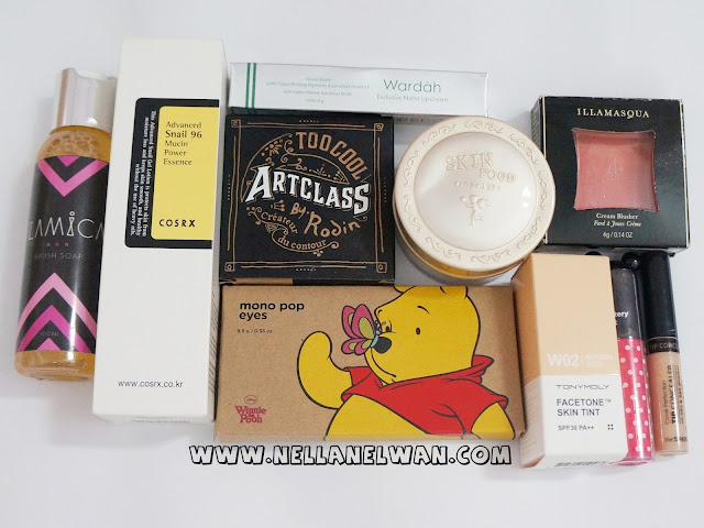 collective korean beauty haul nellanelwan
