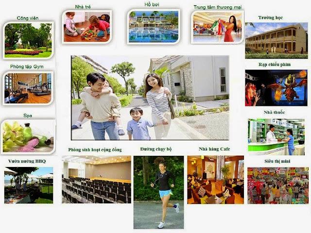 Tiện ích dự án The K Park Hà Đông