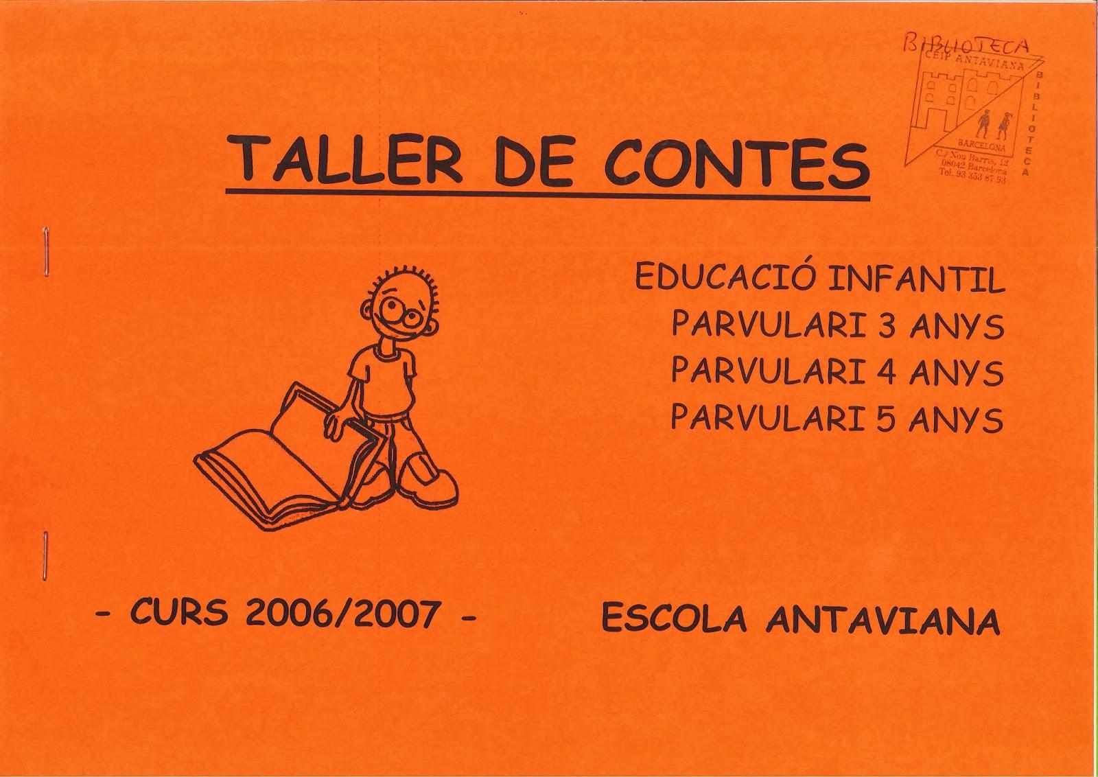 http://issuu.com/blocsdantaviana/docs/dossier_sencer_contes_2006-07