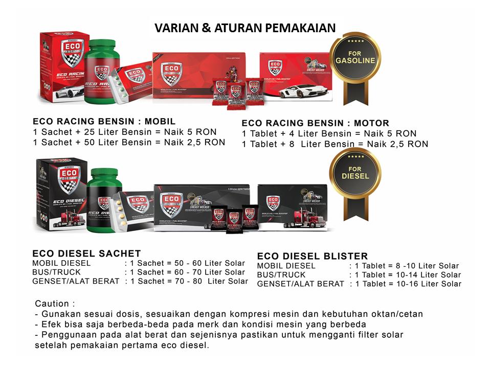 Bisnis Eco Racing Penipuan Dosis Cara Penggunaan Eco Racing