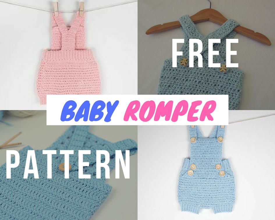 Baby Romper Make Crochet Free Crochet Designs And Free Patterns
