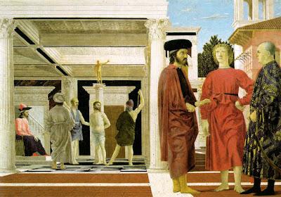 « La Flagellation » de Piero della Francesca