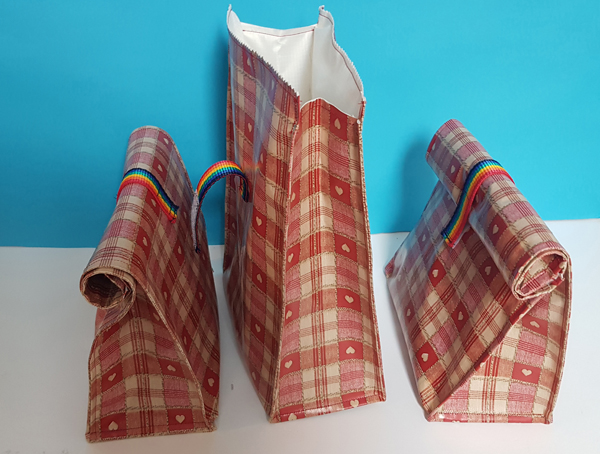 PVC Sandwich Bags homemade