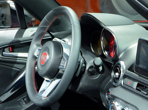 Fiat 124 Spider Paddle Shifters