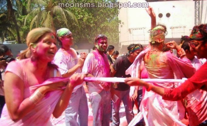 Holi Adult sexy naughty dirty Hot party girls woman's images picture Wallpaper