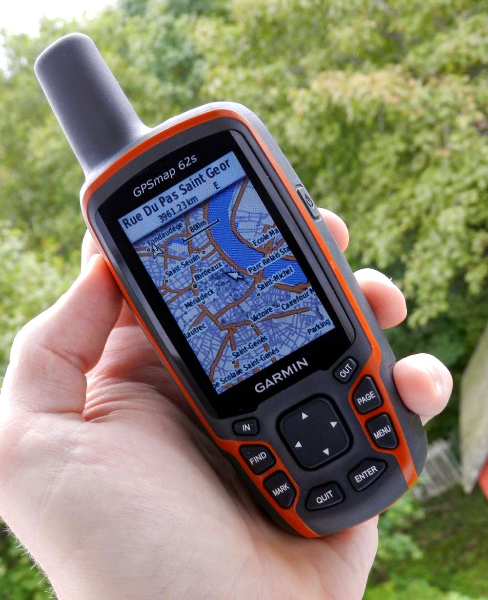 Garmin GPSMAP 62s: Maximum number of gpx files exceeded - On my