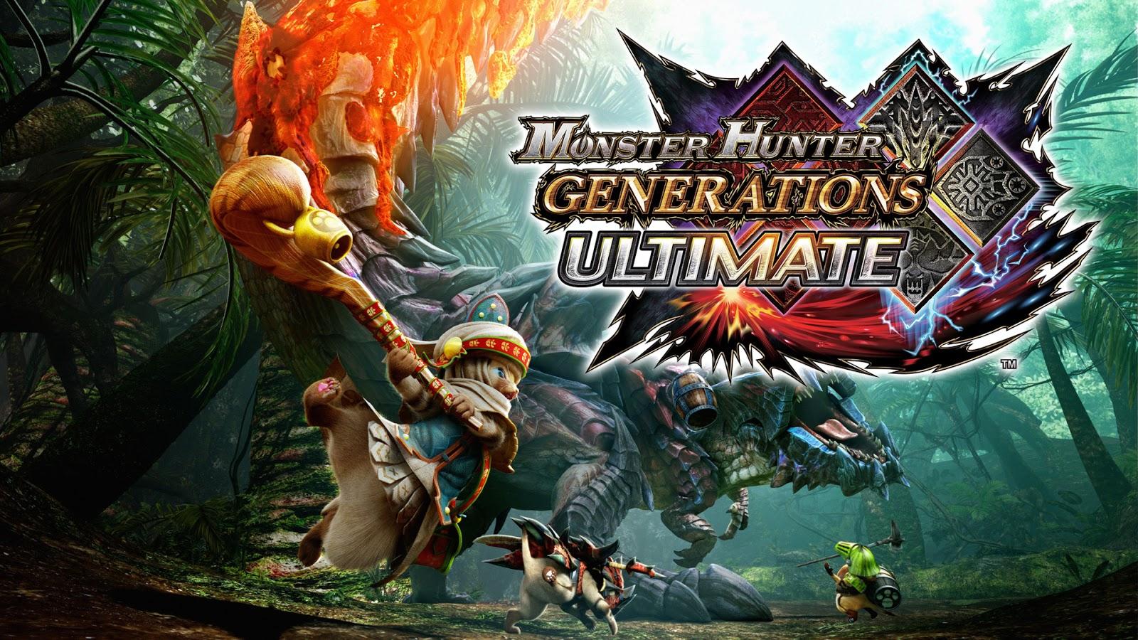 Resultado de imagem para Monster Hunter Generations Ultimate