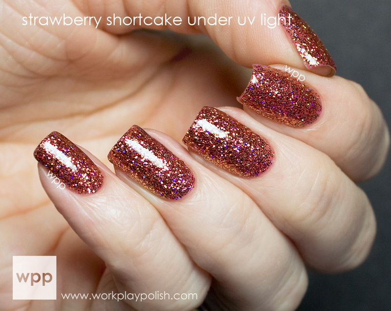 Ruby Wing Strawberry Shortcake from the Cupcakes and Champagne Collection