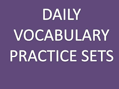 DAILY VOCABULARY PRACTICE TEST SET - 11