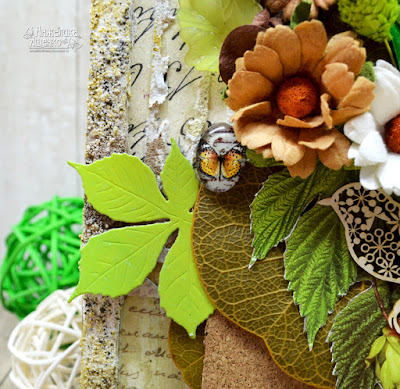 открытка эко стиль, открытка ручной работы