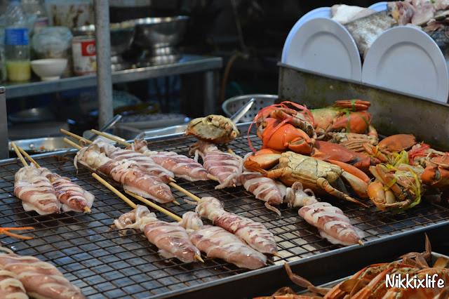 【泰國。華欣】華欣夜市:度假中的一片熱鬧 7