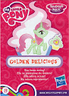 My Little Pony Wave 15 Golden Delicious Blind Bag Card