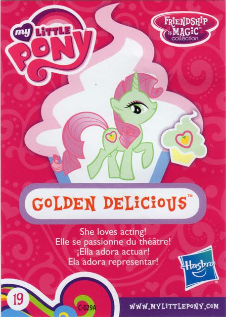 MLP Golden Delicious Blind Bag Cards MLP Merch