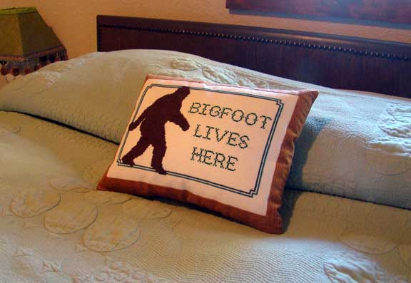 bigfoot_cross_stitch bigfoot_pillow bigfoot
