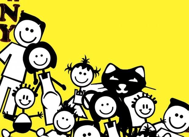 Feliz Personas Exitosas En Caricaturas: INICIAL A: Produção De Texto