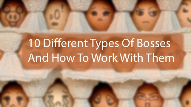 10 Different Types Of Bosses And How To Work With Them