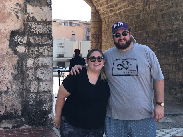 Jay and I posing in Santo Domingo. Photo Credit: Dawn Garcia