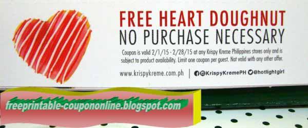 Krispy kreme coupons online