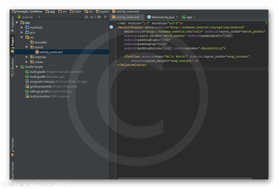 Android Studio - CardView