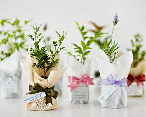 Winter Ideas Wedding Favours
