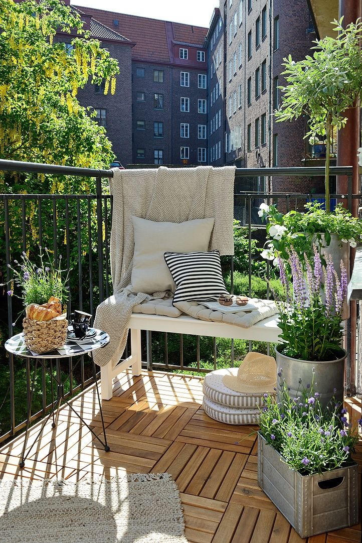 Apartment Patio Balcony Decorating Ideas