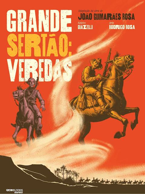 Grande Sertão Veredas Graphic Novel João Guimarães Rosa Guazzelli