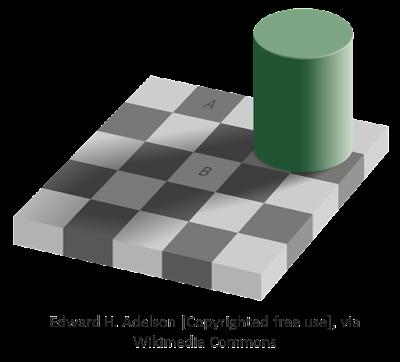 L'illusione ottica della scacchiera
