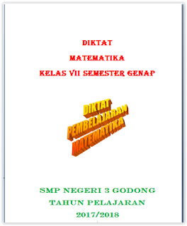 Diktat Matematika Kelas 7 Semester 2