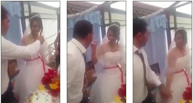 زواج لم يستمر سوى 15 دقيقة العريس لم يتحمل دلع العروس شاهدوا الفيديو