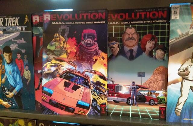 M.A.S.K. Revolution #1 Reviews