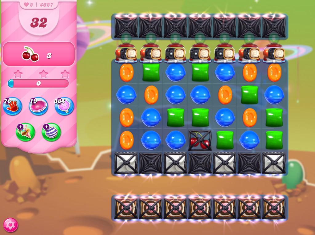 Candy Crush Saga level 4627