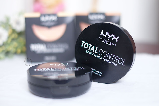 Review : NYX Cosmetics Total Control Mesh Cushion Foundation by Jessica Alicia