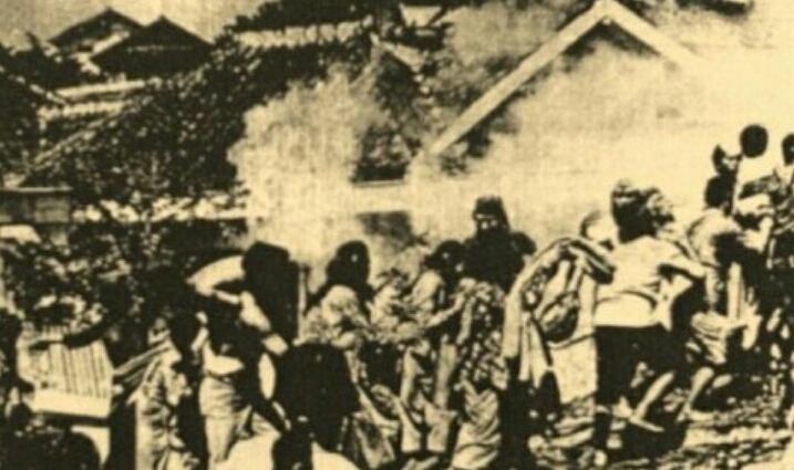 pasukan sekutu memasuki wilayah kota Bandung Peristiwa Bandung Lautan Api
