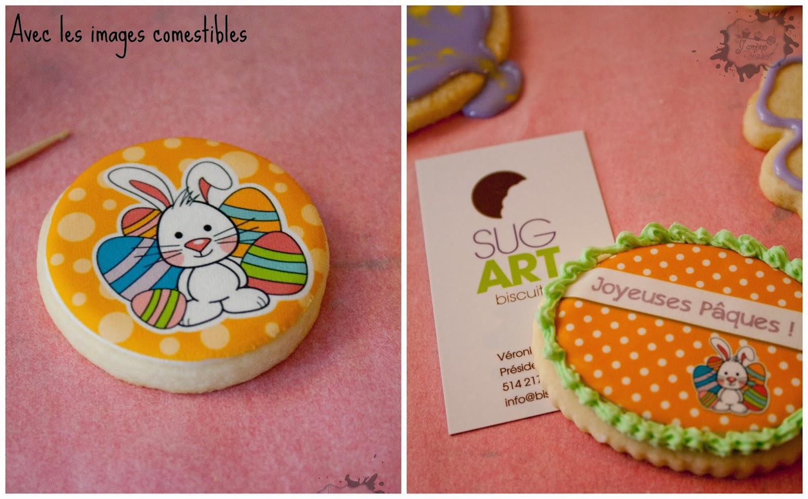 sug'art, cours de biscuits décorés