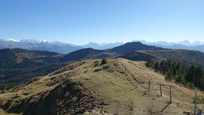 Alpenblick bei der Sewenegg