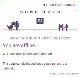Unseen Hidden Game In Google Crome
