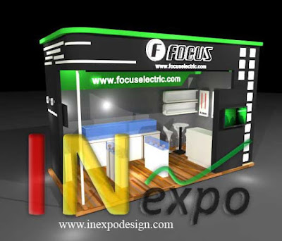 BOOTH FOCUS ELECTRIC PAMERAN TRADE EXPO INDONESIA JIEXPO Kontraktor Inexpodesign