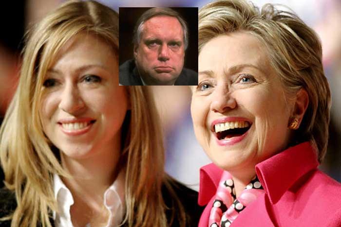 Chelsea isn't Bill Clinton's Daughter?