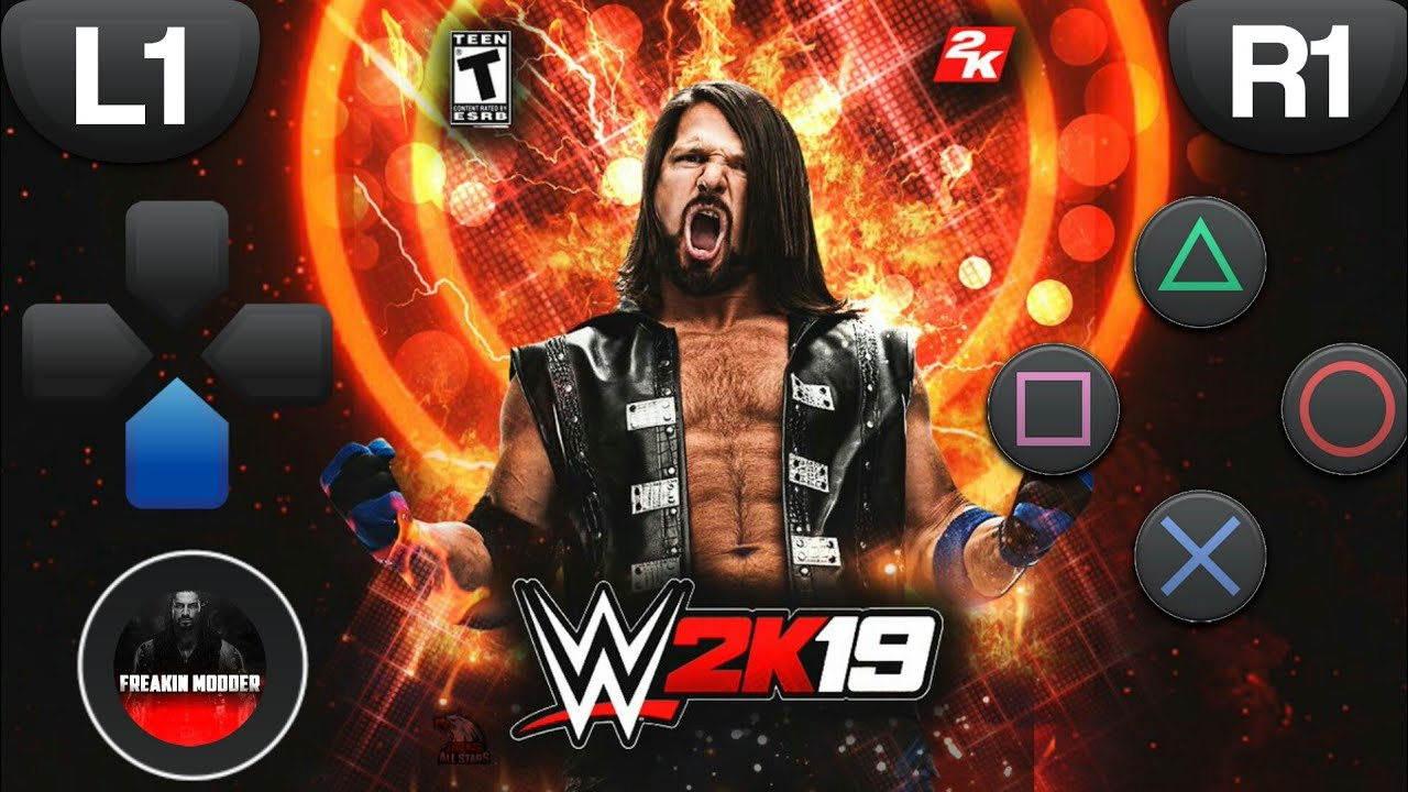 download wwe 2k19 for android ppsspp gold