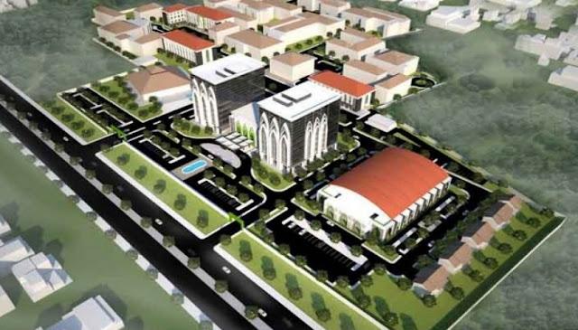 Rp3,5 Triliun untuk Bangun Kampus Universitas Islam Internasional Indonesia