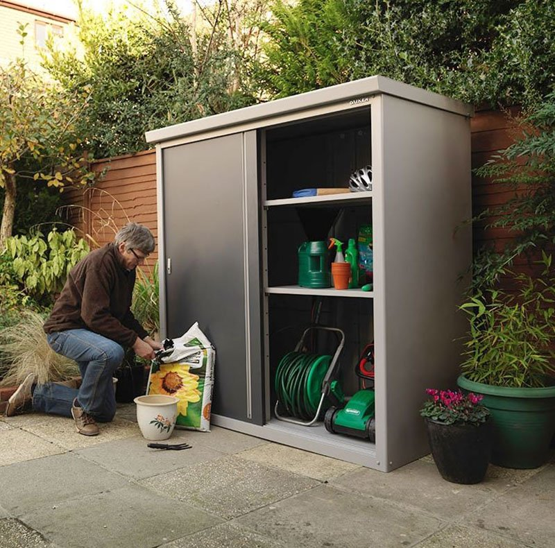 Marzua descubra todas las posibilidades de los armarios - Armario de resina para exterior ...