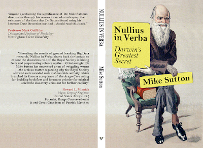 https://www.amazon.co.uk/Nullius-Verba-Darwins-greatest-secret/dp/1541343964
