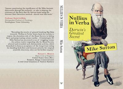 https://www.amazon.co.uk/Nullius-Verba-Darwins-greatest-secret/dp/1541343964