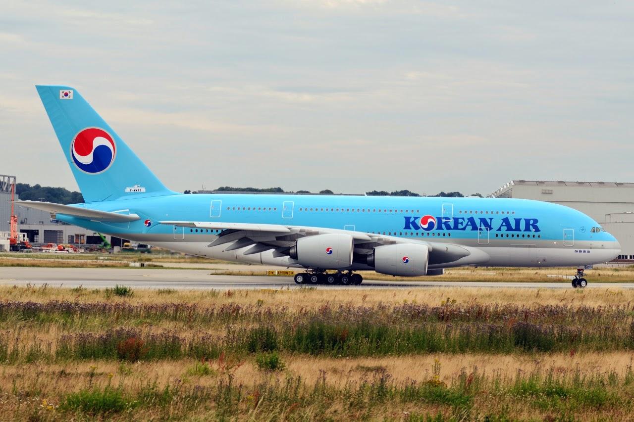 Korean Air S18 changes as of 07FEB18